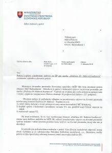 Odpoved na Peticiu -Dialnica D1 - 1