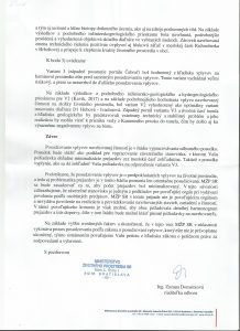 Odpoved na Peticiu -Dialnica D1 - 3