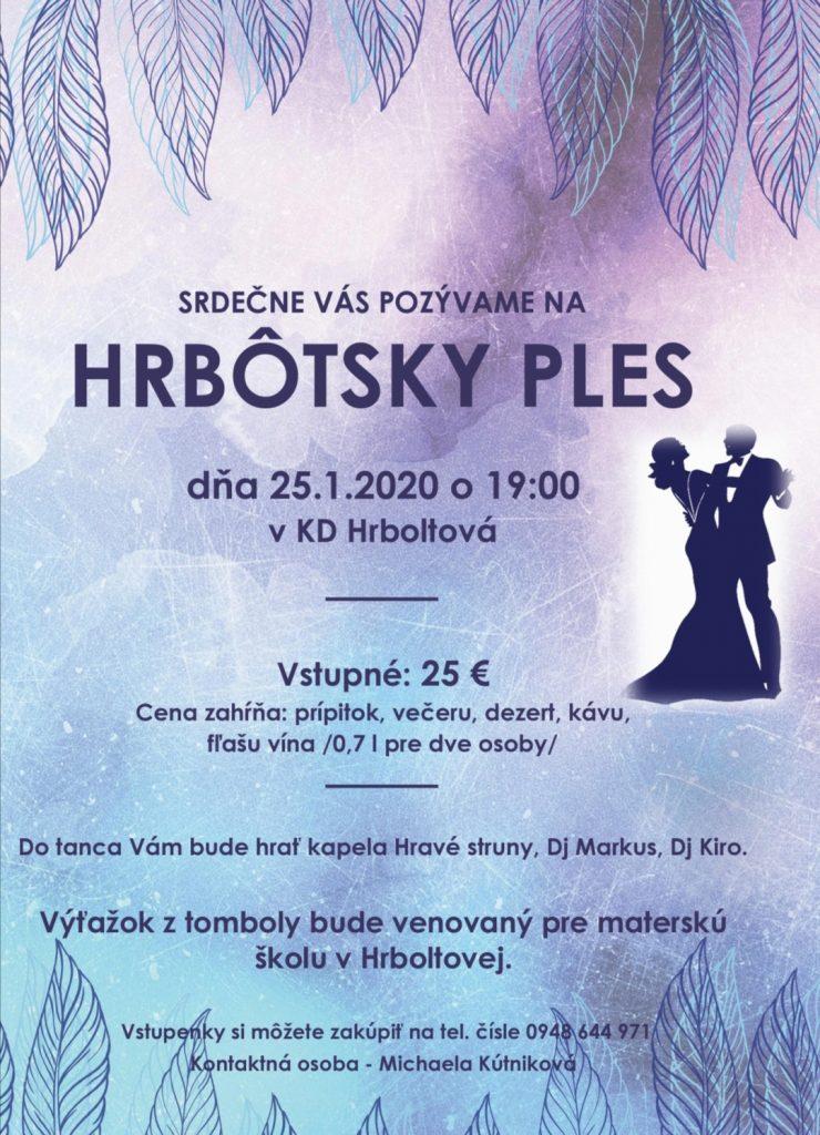 Hrbotsky ples 2019